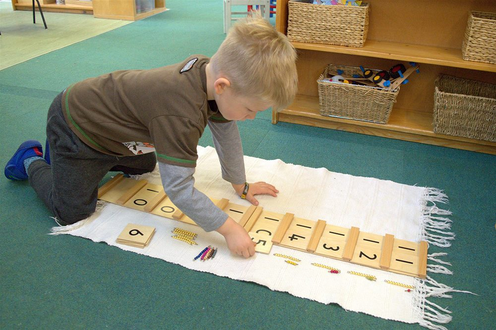 Willow Park Montessori Day Nursery Numbers Math