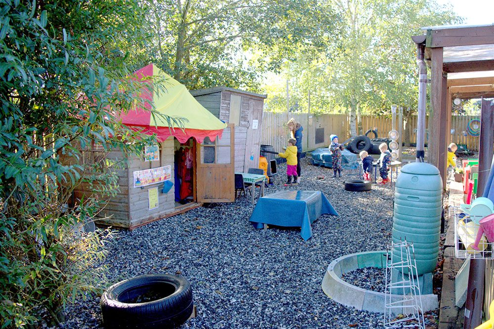 Willow Park Montessori Day Nursery Outdoor Play